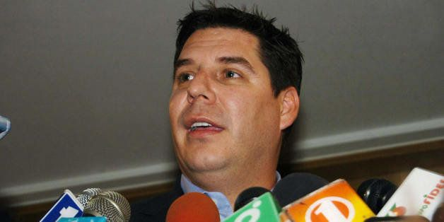 Bolivian Marcelo Claure, founder and president of the wireless distribution and supply chain solutions company Brightstar Cor