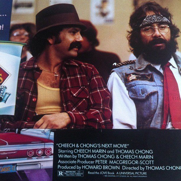 What list of pot-lovers would be complete without the pair that started it all? Cheech Marin and Tommy Chong starred in the 1