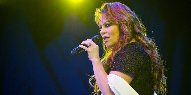 SAN DIEGO - JULY 07: Jenni Rivera performs at 2010 Lilith Fair at Cricket Wireless Amphitheatre on July 7, 2010 in San Diego,