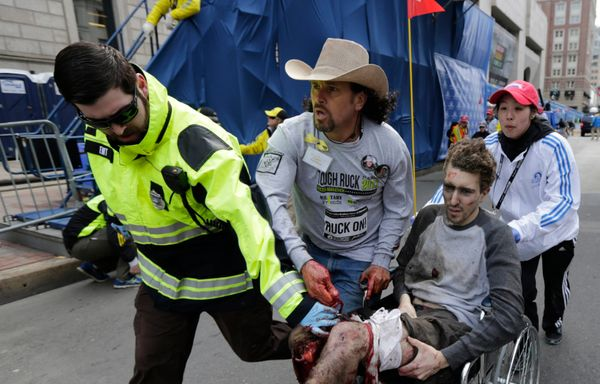 Costa Rican immigrant Carlos Arredondo became a nationally praised hero when he helped rush Jeff Bauman to receive medical at