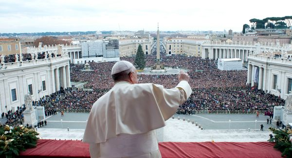 """After a career of ministering to Argentina's poor, Jorge Mario Bergoglio became the first <a href=""""https://www.huffpost.com/e"""