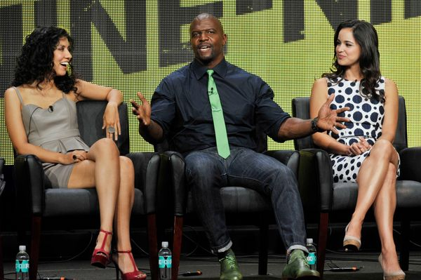 """Stephanie Beatriz and Melissa Fumero are both part of the new hit, """"Brooklyn Nine Nine,"""" a sitcom starring a diverse cast of"""