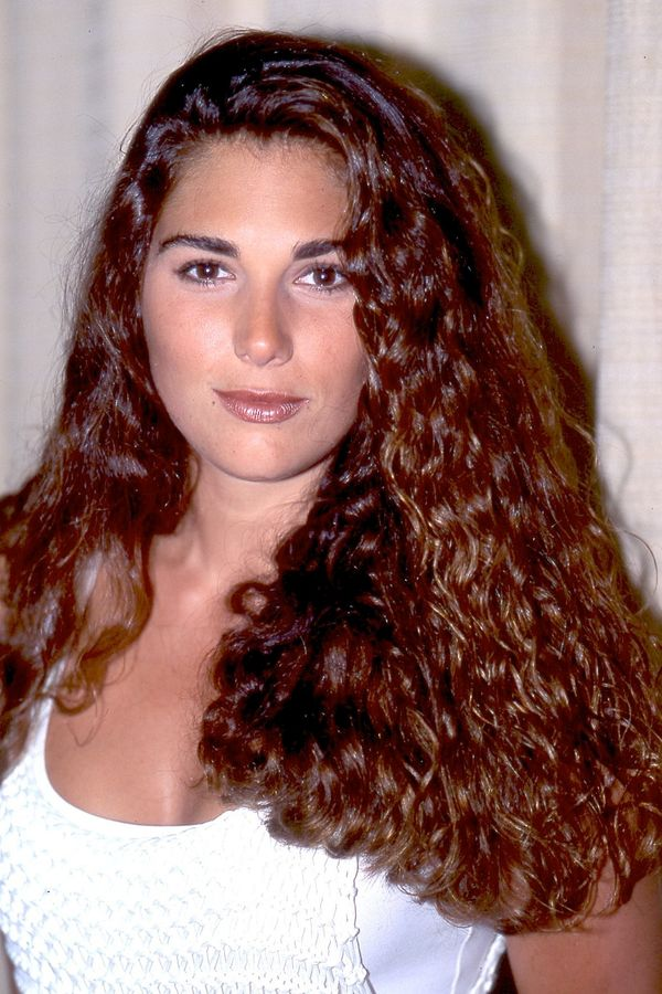This is Fuentes while she worked as a host on MTV.