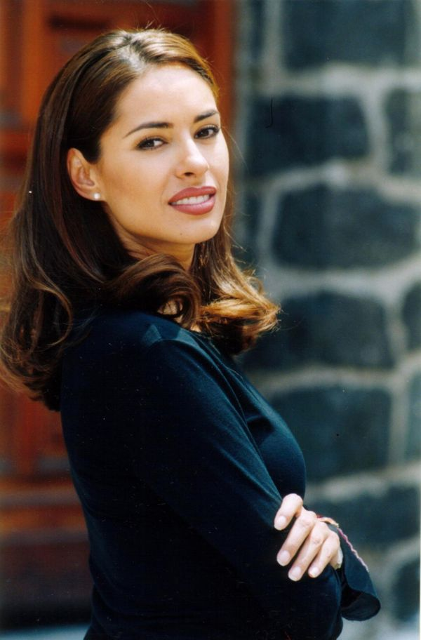 """The television host and actress began her career in Mexico as """"La Chica TV"""" (The TV Chick)."""