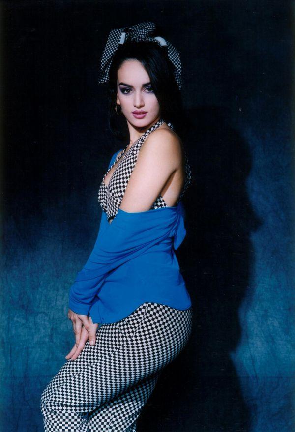 "On the set of the telenovela ""Tentaciones""."