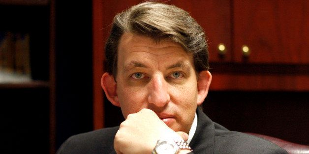 Arizona Rep. Carl Seel, R-Phoenix, is shown in his office Friday, April 15, 2011 at the Capitol in Phoenix. Seel authored a n
