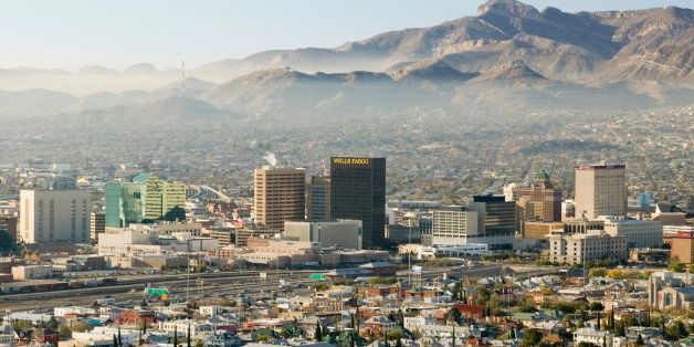 Panoramic view of skyline and downtown El Paso Texas looking toward Juarez, Mexico (Photo by Visions of America/UIG via Getty