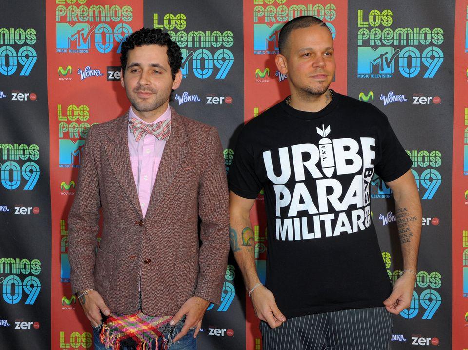 Visitante y Residente de 'Calle 13' en 'Los Premios MTV 2009' (Octubre 15, 2009 en Universal City, California) (Photo by Jaso