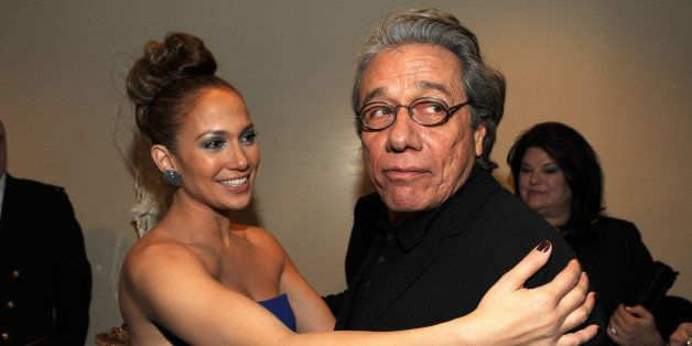 WASHINGTON - JANUARY 18:  *Exclusive* Jennifer Lopez and Edward James Olmos at the 2009 Latino Inaugural Gala - Celebrando El