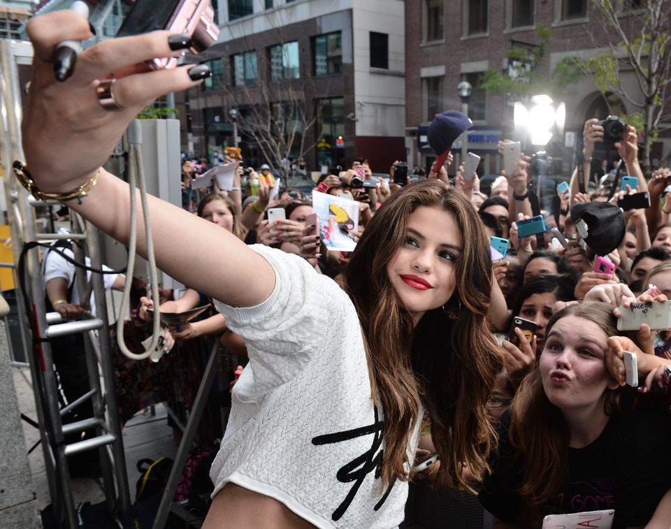 Selena Gomez Co-Hosts New.Music.Live.at MuchMusic Headquarters on May 30, 2013 in Toronto, Canada.