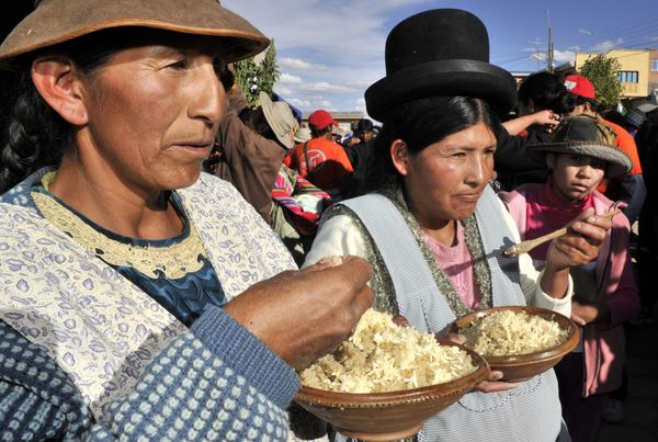 """Newly trendy in the United States, this food is indigenous to the Andes, <a href=""""http://www.merriam-webster.com/dictionary/q"""