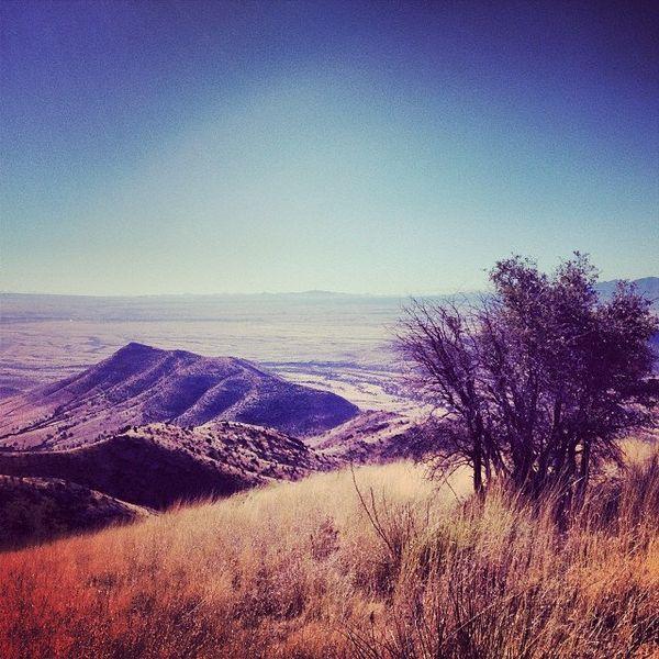 This picturesque mountain memorial located in Arizona commemorates Francisco Vasquez de Coronado's 1540 expedition to the Uni