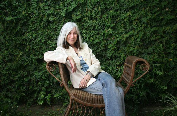 November 2007. Maria Kodama, widow of the writer Jorge Luis Borges.  (Photo by Mariana Silvia Eliano/Cover/Getty Images)