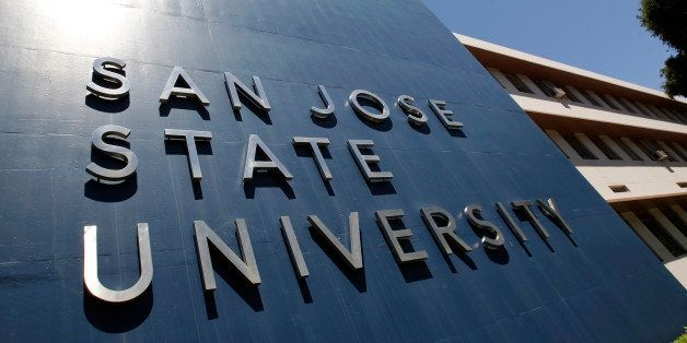 Exterior view of San Jose State University in San Jose, Calif., Thursday, June 30, 2011. The school is one of the state schoo
