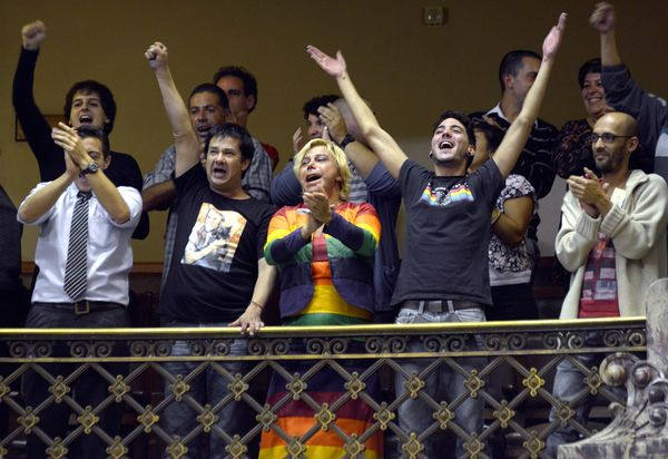 """Though best-known for legalizing weed, <a href=""""https://www.huffpost.com/entry/uruguay-legalizes-gay-marriage_n_3057458"""" targ"""