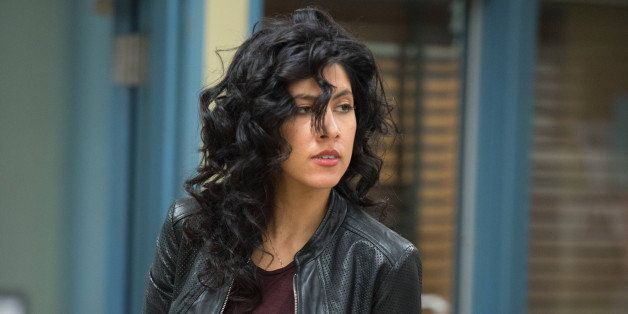 BROOKLYN NINE-NINE -- 'Operation Broken Feather' Episode 116 -- Pictured: Stephanie Beatriz as Rosa Diaz...