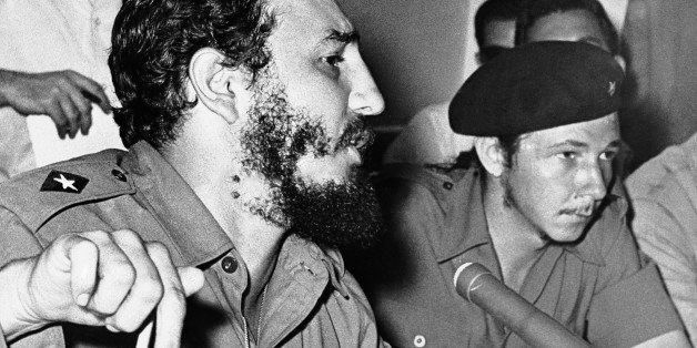 The Cuban government of Premier Fidel Castro, left, seen in an undated photo, intensified a news blackout in the face of repo