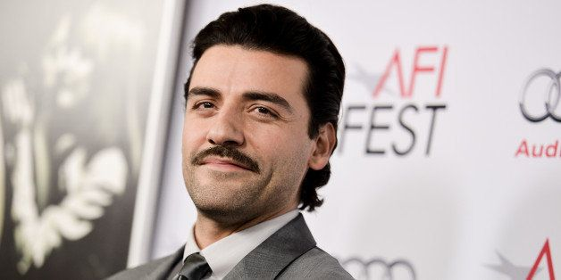 "FILE - In this Nov. 06, 2014 file photo, Oscar Isaac arrives at 2014 AFI Fest - ""A Most Violent Year"" event in Los Angeles. I"