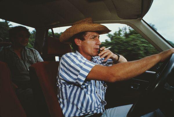 <em>Roberto D'Aubuisson (1944-1992), a Salvadoran right-wing politician, death squad leader and a major in the Salvadoran Arm