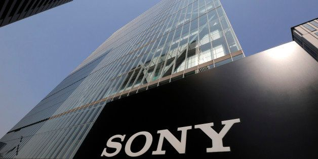FILE - In this May 22, 2013 file photo, Sony's logo is seen outside the company's headquarters in Tokyo.  A U.S. official say
