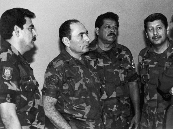 "El Salvador's military <a href=""http://www.pbs.org/itvs/enemiesofwar/elsalvador2.html"" target=""_blank"">committed atrocities t"