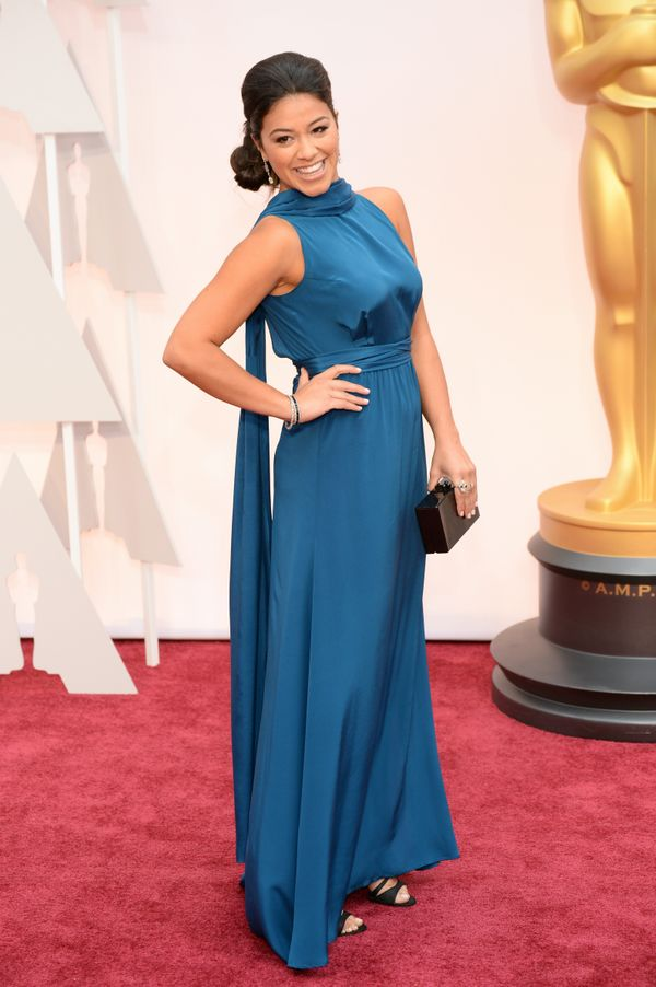 Gina looked so stunning at the Oscars this year.
