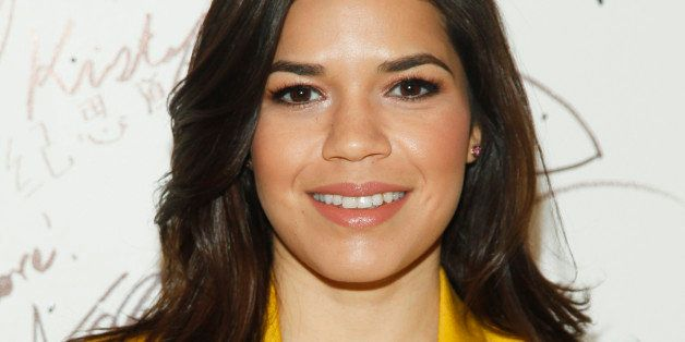 """America Ferrera participates in AOL's BUILD Speaker Series to discuss the upcoming film """"X/Y"""" at AOL Studios on Tuesday, Fe"""