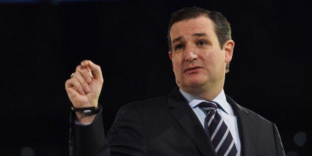 LYNCHBURG, VA - MARCH 23: Senator Ted Cruz (R-Texas) makes a speech where he announced his candidacy for a presidential bid a