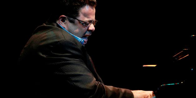U.S. pianist and composer Arturo O'Farrill performs at the opening ceremony of Cuba's 27th International Jazz Festival in Hav