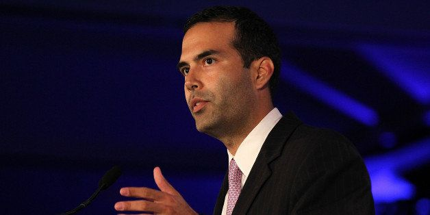 NEW ORLEANS, LA - JUNE 18:  George P. Bush speaks during the 2011 Republican Leadership Conference on June 18, 2011 in New Or