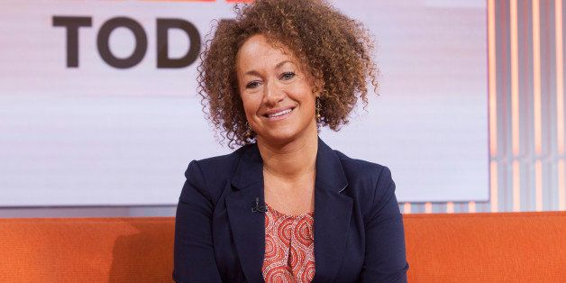 "In this image released by NBC News, former NAACP leader Rachel Dolezal appears on the ""Today"" show set on Tuesday, June 16, 2"