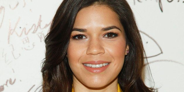 "America Ferrera participates in AOL's BUILD Speaker Series to discuss the upcoming film ""X/Y"" at AOL Studios on Tuesday, Fe"