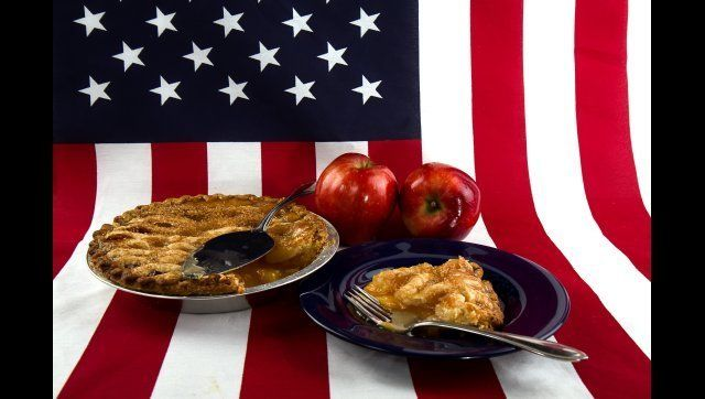 american as apple pie concept   ...