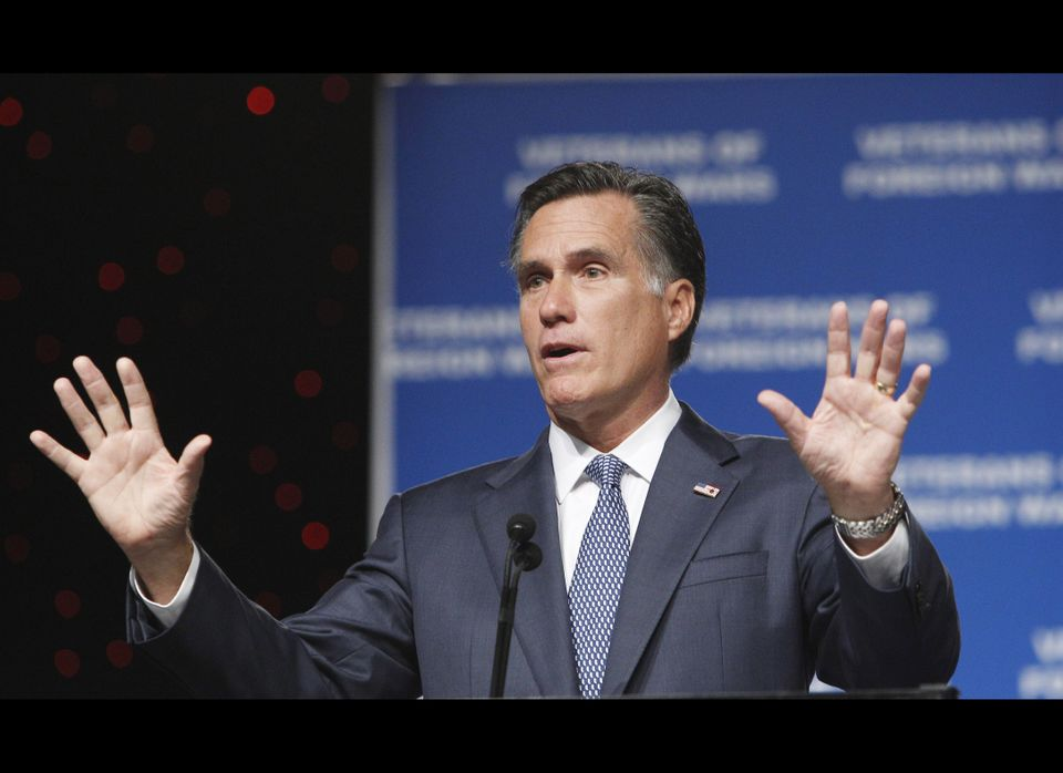 Mitt Romney does not mention immigration or the border on his campaign website. But he elaborated on his positions in a <a hr