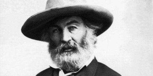 Walt Whitman (1819-92), American poet (B&W)