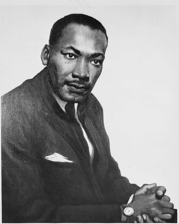 Title Martin Luther King, Jr | Scope and content | General notes Painting | ARC 559202 | Local identifier H-HNP-27A-1 | Creat