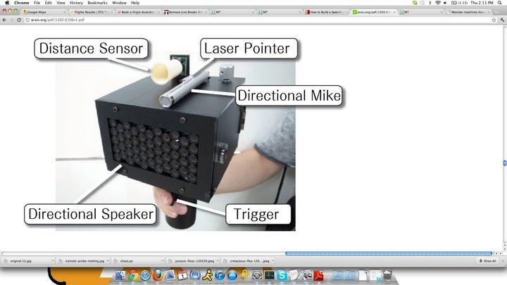 SpeechJammer' Speech-Squelching Device Developed By Japanese