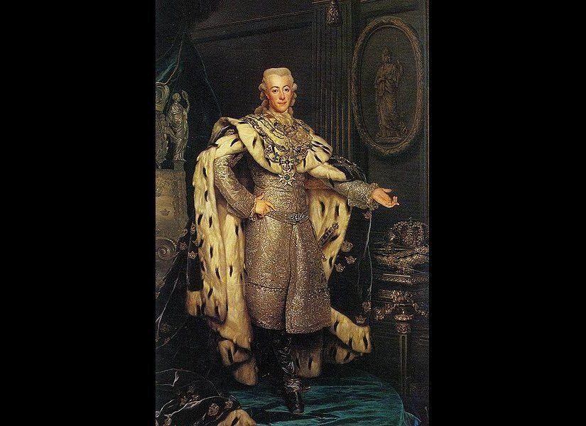 In the late 18th century, King Gustavus III of Sweden was rumored to have carried out a strange experiment to determine the h