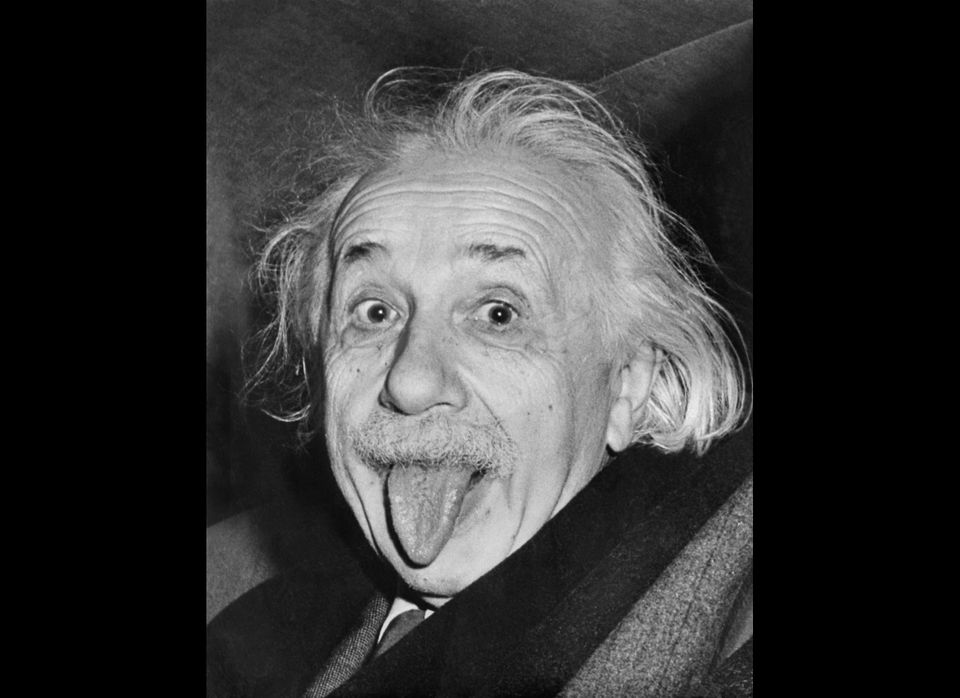 Celebrated picture dated 18 march 1951, shows German-born Swiss-US physicist Albert Einstein (1879-1955), awarded the Nobel P