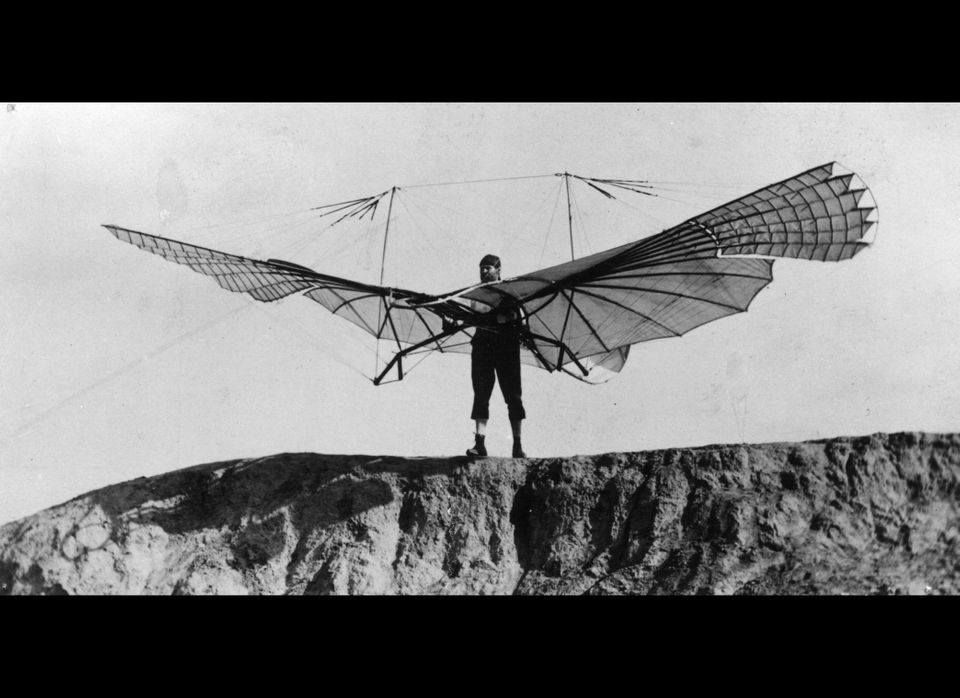 German aviation pioneer Otto Lilienthal developed 18 different plane models and created the predecessor to the modern hang gl