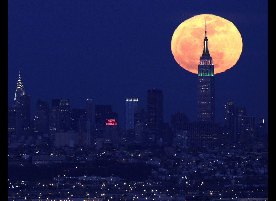 "The 'Supermoon,' which arrived just before midnight on May 5, was spectacular from angles <a href=""https://www.huffpost.com/e"