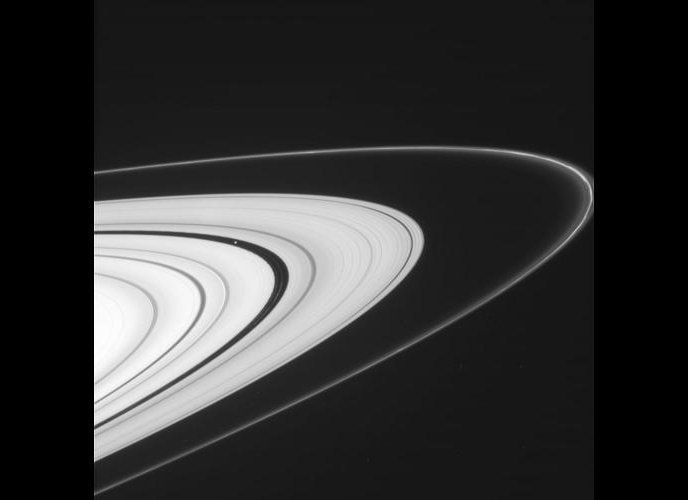 NASA's Cassini spacecraft has recently resumed the kind of orbits that allow for spectacular views of Saturn's rings. This vi