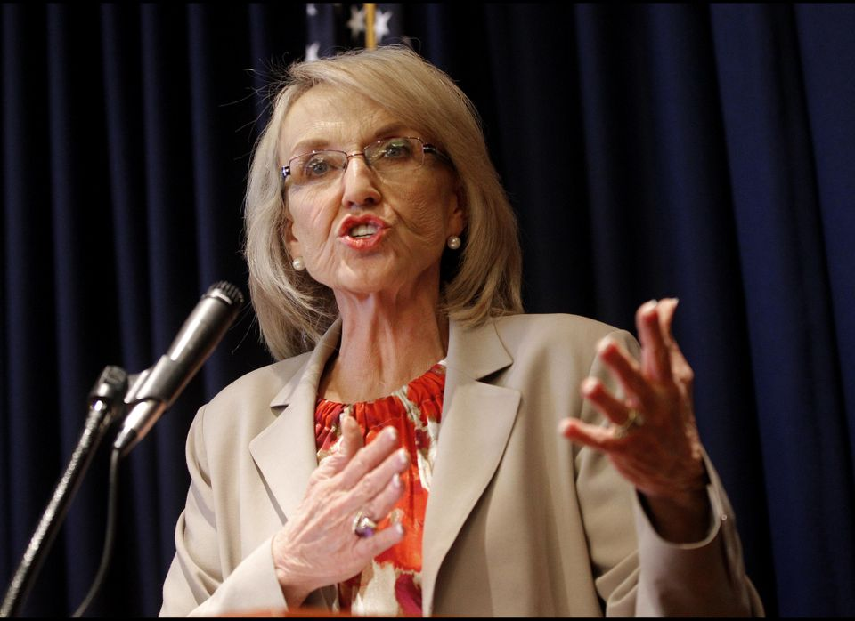 """Well, I thought his comments were a little bit outrageous,"" she <a href=""http://www.kjzz.org/content/1208/gov-brewer-akin-co"