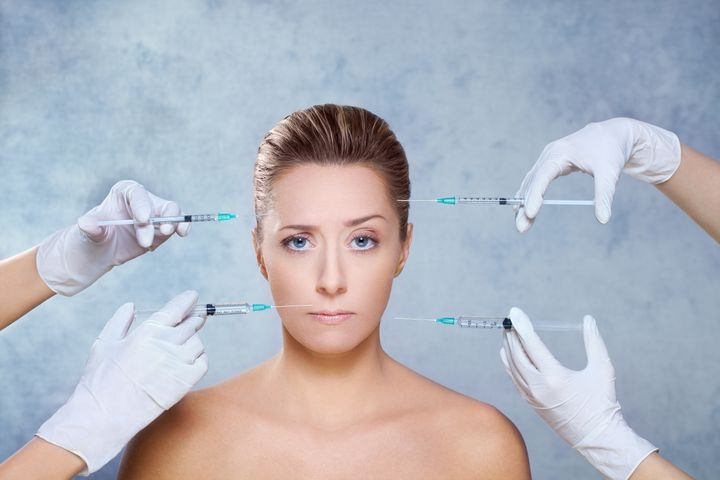 beauty treatment with botox