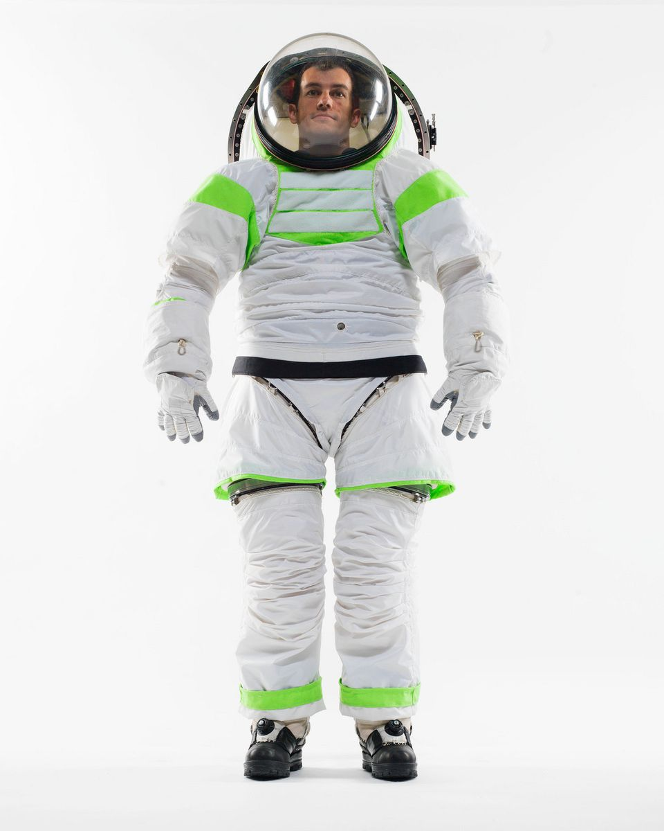The Z-1 is NASA's next generation spacesuit, a prototype of which is pictured at the Johnson Space Center. Planned for use by