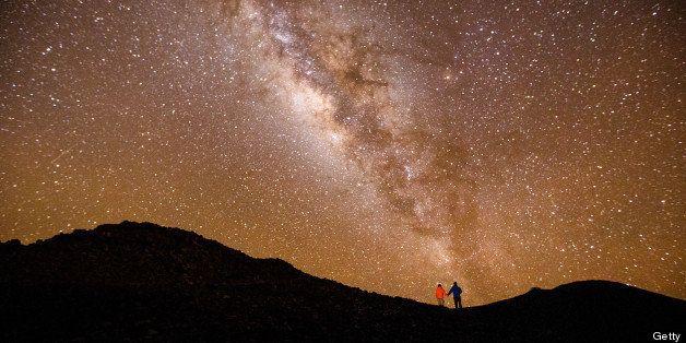 Milky Way, from the top of Mt Haleakala on Maui, Hawaii.