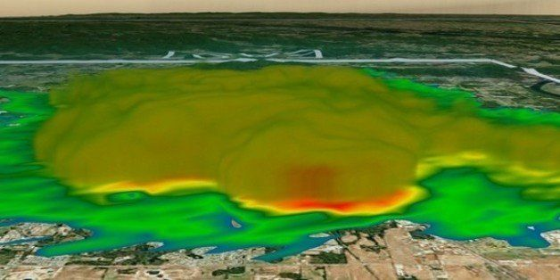 Weird Weather Radar 'Blob' Tied To 'Chaff' Used In Military