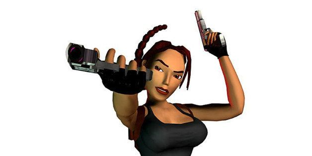 UNSPECIFIED - : video game character Lara Croft, 2000 (Photo by Apic/Getty Images)