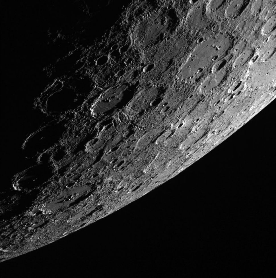 This image of the planet Mercury was taken on October 2.