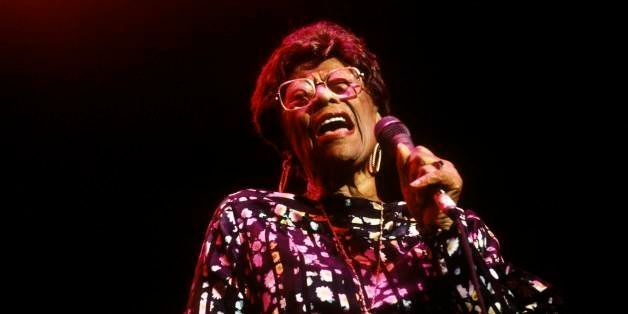 UNITED KINGDOM - MARCH 01:  Photo of Ella FITZGERALD; performing live onstage,  (Photo by David Redfern/Redferns)